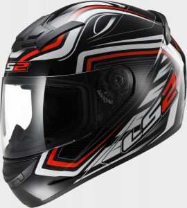 Kask LS2 FF352 ROOKIE RANGER Black Red M